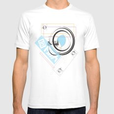 .signature Mens Fitted Tee White SMALL