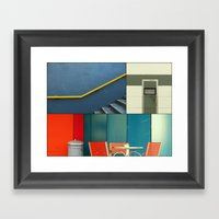 Urban Fragments Framed Art Print