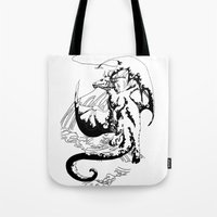 A Dragon from your Subconscious Mind #12 Tote Bag