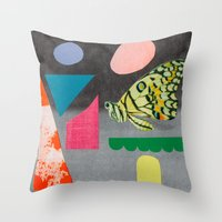 A Bit For You, A Bit For… Throw Pillow