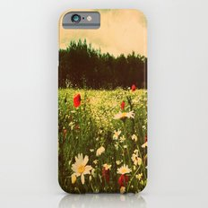 Poppies In Pilling  Slim Case iPhone 6s