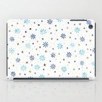Watercolour Daisies & Stars iPad Case