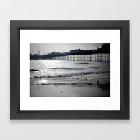Brighton. Framed Art Print