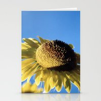 Bulging Sunflower Stationery Cards