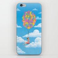 Balloon Girl iPhone & iPod Skin