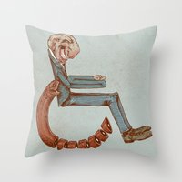 Wheelchair Throw Pillow