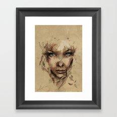 [Crystal] Framed Art Print