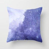 Ice Mountain Throw Pillow