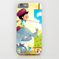 Painting Day iPhone 6 Slim Case