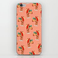 Miss Giraffe iPhone & iPod Skin