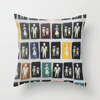 Mad Men Throw Pillow