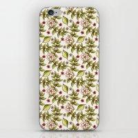 Floral dream iPhone & iPod Skin