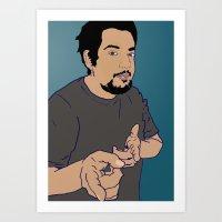 The Nes Art Print
