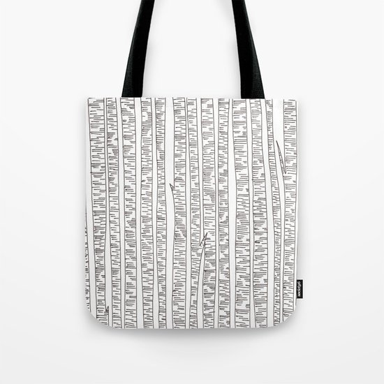 Lost In Stripes Tote Bag