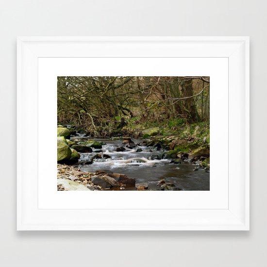 The River Washburn Framed Art Print