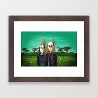 Terra de Condá Framed Art Print