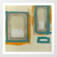 Soft And Bold Rothko Ins… Art Print