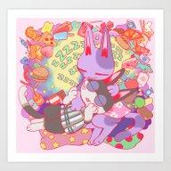 Art Print featuring Dream by Ginseng&Honey