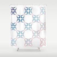 Checker C4 Shower Curtain