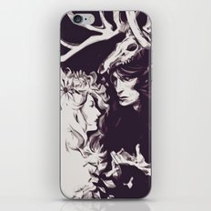 Old Forest Gods - NBC Hannibal Bedelia iPhone & iPod Skin