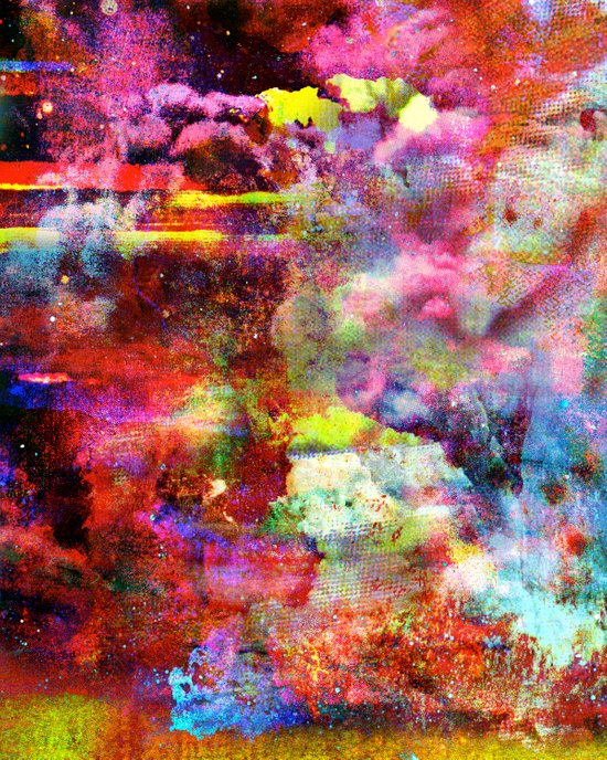 Untitled 20100805h (Cloudscape) Art Print