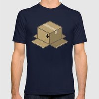 This End Up Mens Fitted Tee Navy SMALL