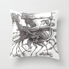 Great Duke Bathin Throw Pillow
