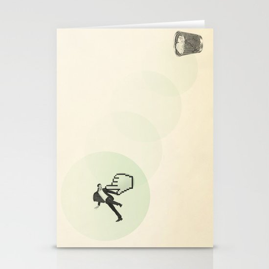 trash man Stationery Card