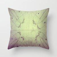 Map Throw Pillow