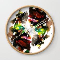 color study 1 Wall Clock