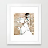 The Messengers Framed Art Print