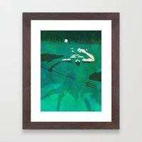Ponce of Tides Framed Art Print