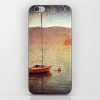 Boat On Lake Maggiore, I… iPhone & iPod Skin