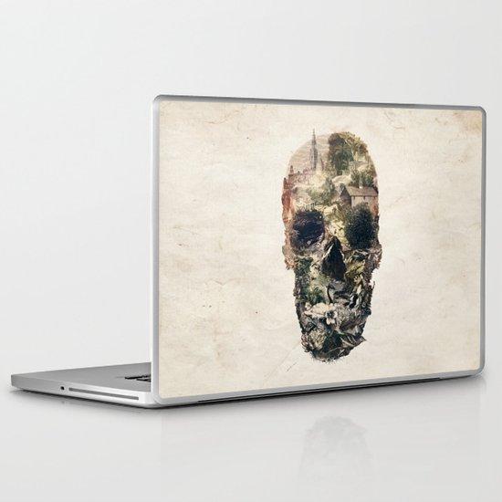 Skull Town Laptop & iPad Skin