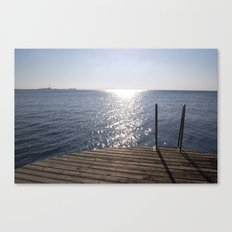 swedish sun Canvas Print