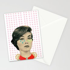 for your information there's an inflammation in my tear gland Stationery Cards
