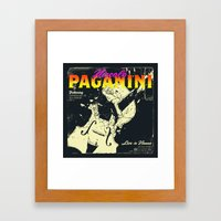 Paganini Framed Art Print