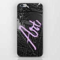 Neon Art iPhone & iPod Skin