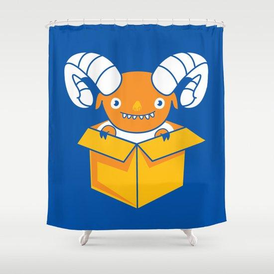 Free Sheeping! Shower Curtain