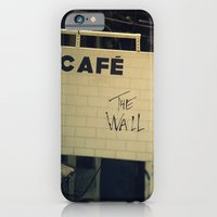 iPhone & iPod Case featuring Cafe The Wall by Davi Ozolin
