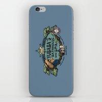 Yubaba's Bathhouse iPhone & iPod Skin