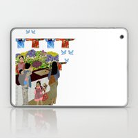 Happy Valley Flower Mark… Laptop & iPad Skin