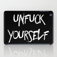 Unfuck Yourself - inverse iPad Case
