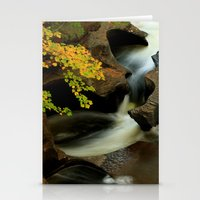 Fall from the Bridge Stationery Cards