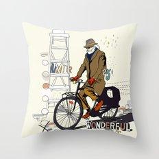 Parisian Dream Throw Pillow