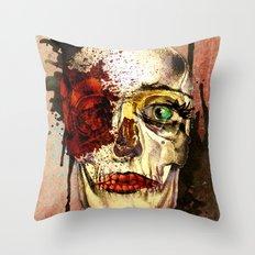 skull3 Throw Pillow