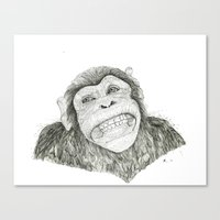 Smile like you mean it  Canvas Print