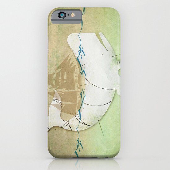 The ghost of Captain Ahab  iPhone & iPod Case