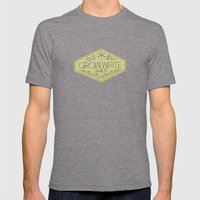 Grow Write Guild Seal Mens Fitted Tee Tri-Grey SMALL
