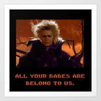 All Your Babes Art Print
